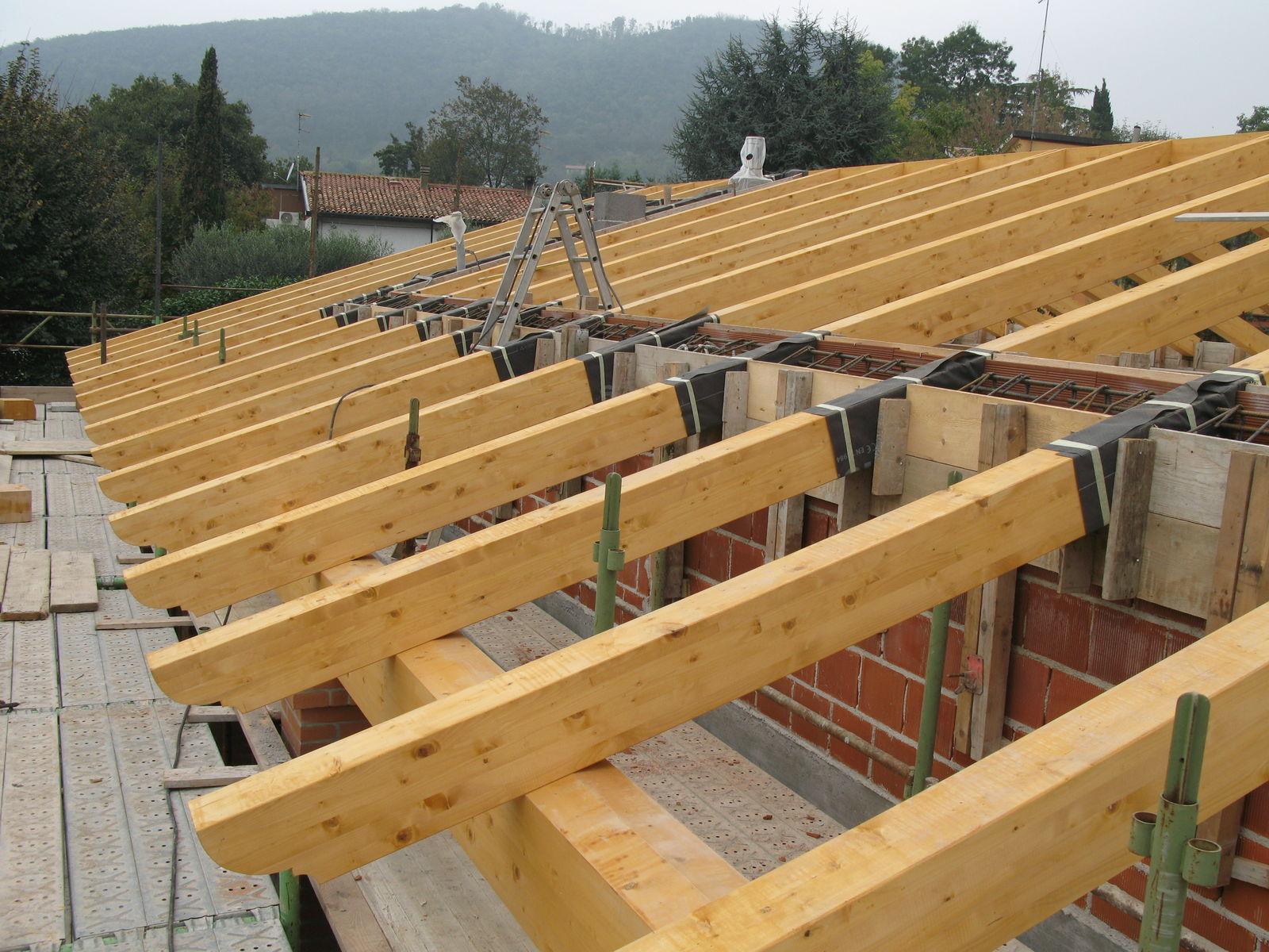 Costruire Tetto In Cemento costruzione unifamiliare a montegrotto
